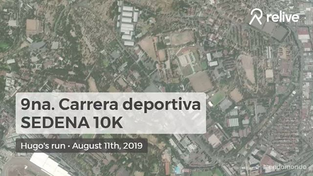Logro desbloqueado: 10Km #sedena10k2019