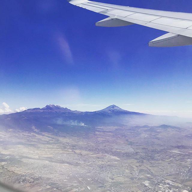 Los amantes imposibles: #Iztaccihuatl y #Popocatepetl